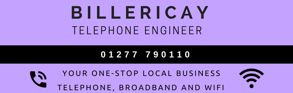 Shenfield telephone engineer in Billericay logo