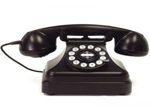 Telephone engineer Billericay picture of retro phone
